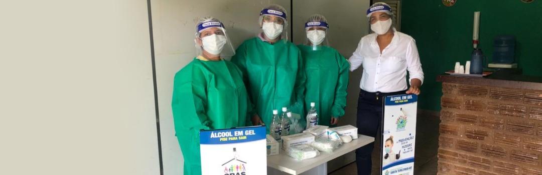 Prefeitura Entrega Equipamentos de Proteção Individual Para as Equipes do CRAS
