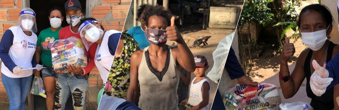 Secretaria de Assistência Social Faz Entrega de Cestas Básicas da Campanha Vem Ser Mais Solidário