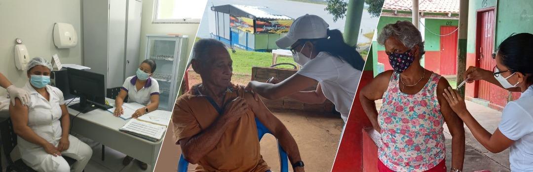 Covid-19: Santa Terezinha Bate Meta Com 100% das Vacinas Aplicadas