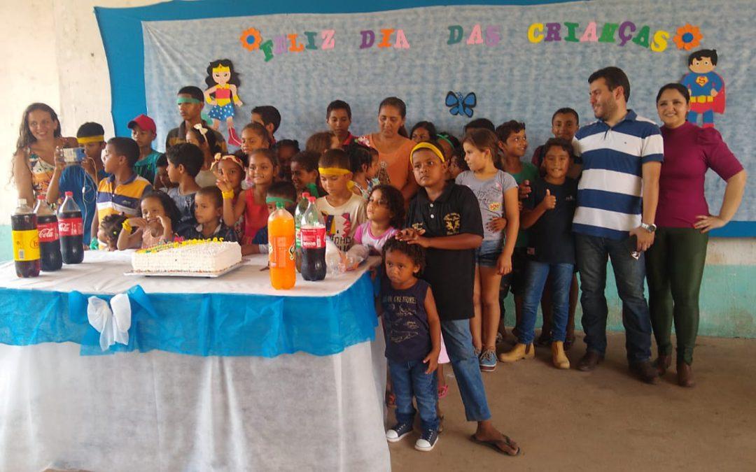 Prefeitura realiza festa em comemoração ao Dia das Crianças na comunidade do Lago Grande